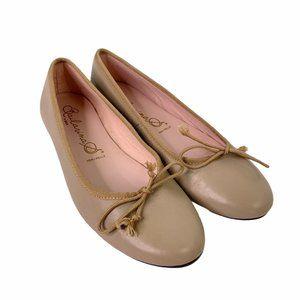 Bailarina by SKA Ballet Flats Driving Shoes Tan Be